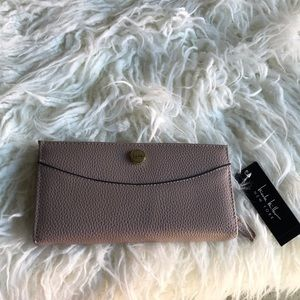 Nicole Miller New York vegan leather wallet